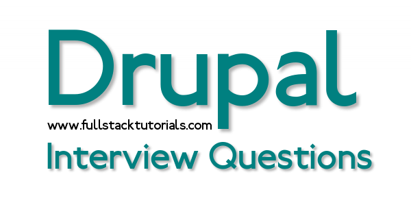 Drupal 8 Interview Questions