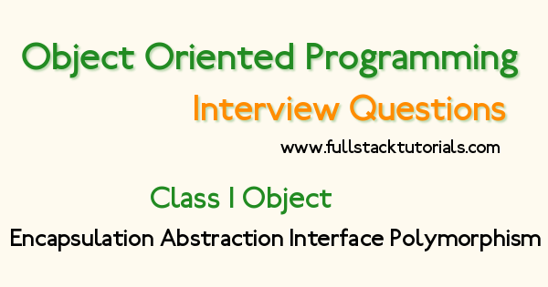 PHP OOPs Interview Questions