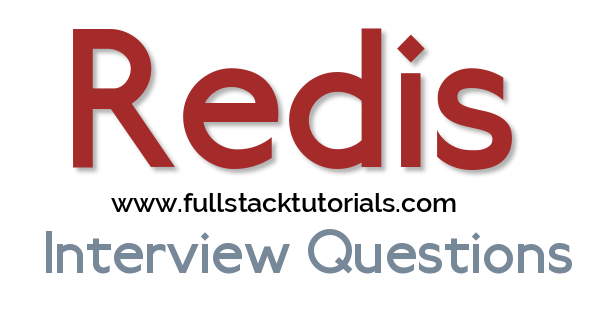 Redis Cache Interview Questions